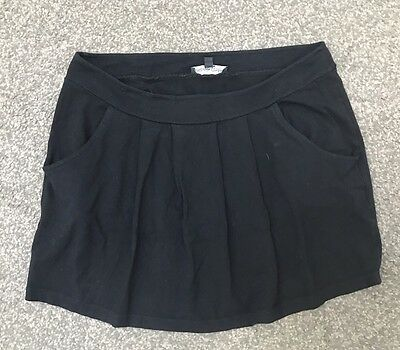 ISABELLA OLIVER Ladies Maternity Black Stretch Mini Skirt Size 2 - Suit 10-12