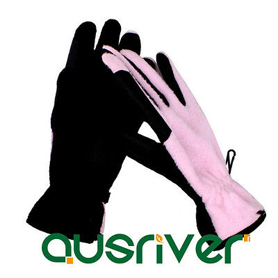 Polar Fleece Gloves Winter Riding Gloves Cold Weather Gloves Horse Comfy Gloves