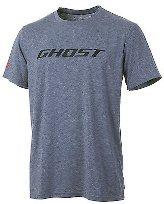 GHOST T-Shirt - Bike Tee Ghost grau/schwarz 2017 - L