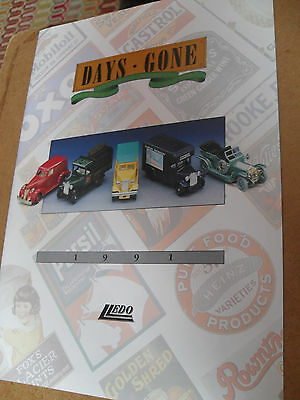 Lledo Days Gone Toy Catalogue 1991 Edition Excellent Condition For Age