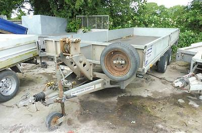 Used Ifor Williams LM166 Twin axle flat bed Trailer