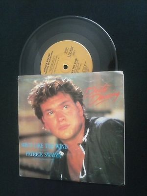 7'' vinyl record  SHES LIKE THE WIND Patrick Swayze