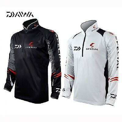 DAIWA Fishing Shirt Long Sleeved Quick-Drying Breathable Anti-UV Sun Protection