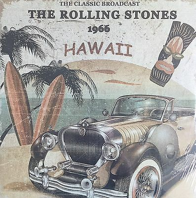 The Rolling Stones 1966 Hawaii The Classic Broadcast CLEAR COLOURED VINYL LP