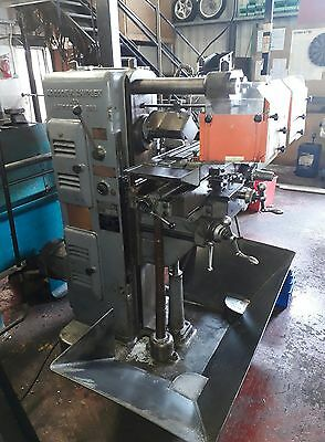 adcock and shipley 2d horizontal milling machine