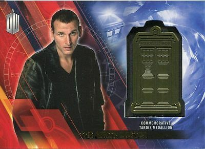 Doctor Who Timeless Gold Parallel [#/5] Tardis Card The Ninth Doctor