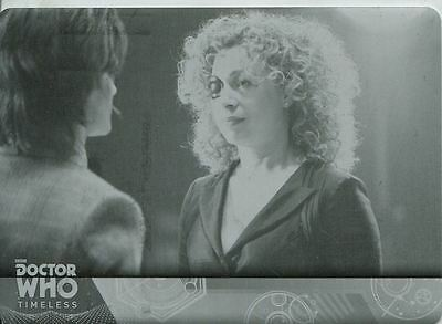 Doctor Who Timeless Black Printing Plate Base Card #82
