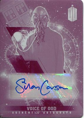 Doctor Who Timeless Printing Plate Autograph Card Silas Carson