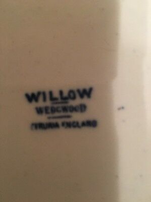 Willow Wedgwood Blue And White Bowl