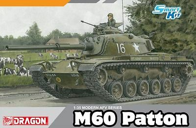 Dragon Plastic Model Kit - M60 Patton Tank - 1:35 Scale - D3553 - New