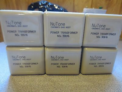 NOS Nutone Plug in Transformers Lot of 6 Part # 30616 Intercom Door Chime