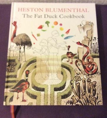 The Fat Duck Cookbook Heston Blumenthal Hardcover 2009 ISBN 978 0 747597377