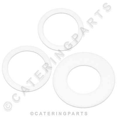 HOBART 774072-1, 2 & 7 TEFLON WASHER RING SET 19, 20.5 & 24mm FOR DISHWASHER