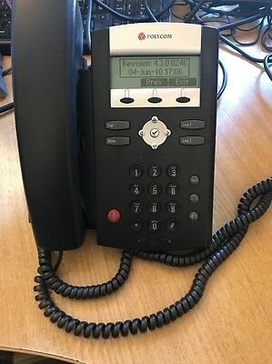 Polycom SoundPoint IP 331 IP Buisness Phone/Telephone VOIP with stand