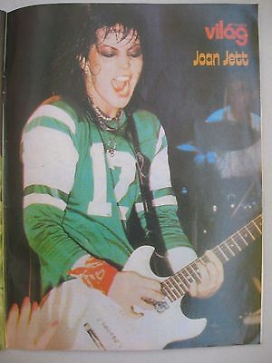 Joan Jett The Runaways Rare Pinup Poster 1 Page Clipping