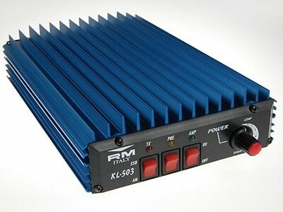 RM KL 503 AMPLIFIER 450W SSB VARIABLE HF Ham Radio