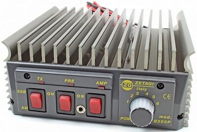 Zetagi B300P 20 30MHz 400w PEP Mobile Amplifier Burner