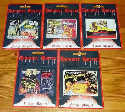 Classic Hammer 40th House of Horror Fridge Magnets by KP Collectables (1997) MIP