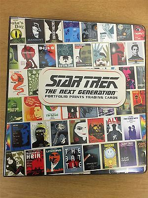 Star Trek TNG Portfolio Prints Series 1 Official Rittenhouse Archives Binder