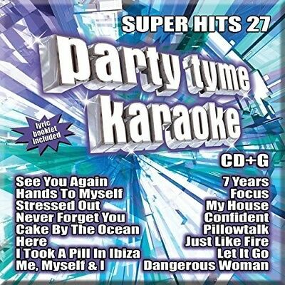 Party Tyme Karaoke: Super Hits 27 - Various Artist (2016, CD NEW)
