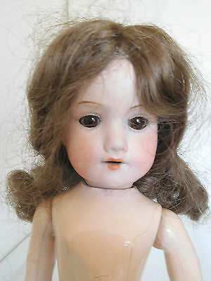 Antique Armand Marseille 390 Bisque Head on Hard Plastic Body Doll Hospital Part