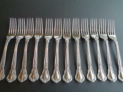 "1 (One) Gorham Chantilly*sterling Silver*flatware*true Dinn Fork 7 1/2""new Mark"
