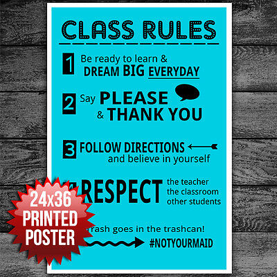CLASSROOM SIGN WELCOME Teacher Motivational Inspirational