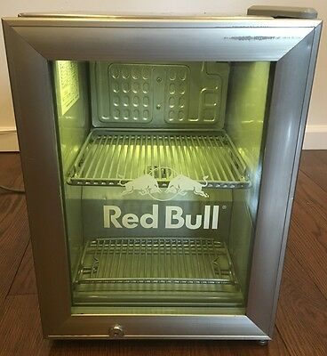 Red Bull Commercial Reach In Counter Top Mini Fridge Cooler Display PICK UP ONLY