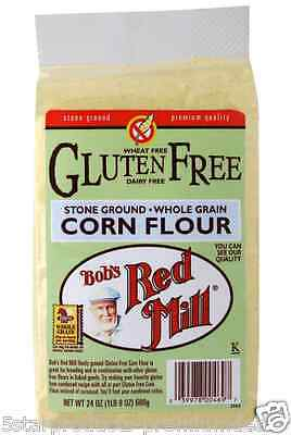 New Bob's Red Mill Gluten Wheat Free Corn Flour Mixes Whole Grain Baking Food