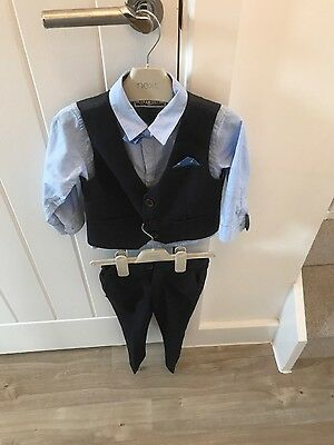 Next signature boys wedding outfit/occasion/suit age 12-18 months