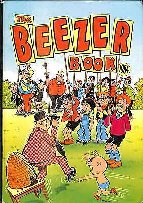 The Beezer Book 1984 (Annual), Good Condition Book, D C Thomson, ISBN 0851162835
