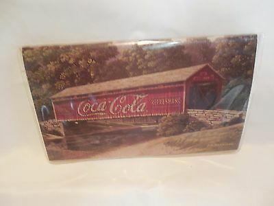 The Americana Coca-Cola Calendar & Planner 1998 - 1999 Bridge Jim Harrison Art