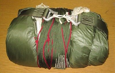 Mint Military Parachute Sf10A Mfg 2003 Lines In Tact No Visible Damage