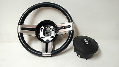 05-09  OEM Ford Mustang Leather Steering Wheel Cruise Control and AIR