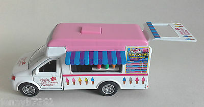 1.32 Scale Ice Cream Van Airfix & Scalextric Suitable LIGHTS & SOUND WORK SORRY!