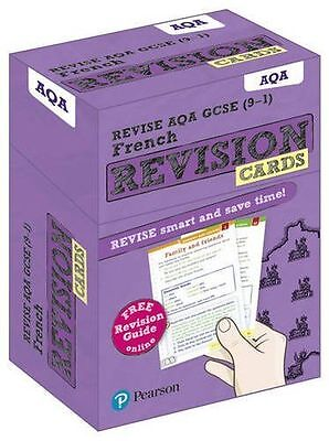 NEW - REVISE AQA GCSE (9-1) French Revision Cards: With Free (Cards) 1292182075