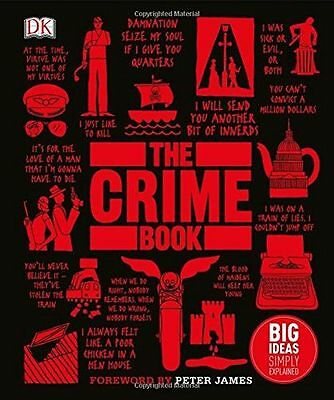 **NEW** - The Crime Book: Big Ideas Simply Explained (Hardcover) - 0241298962