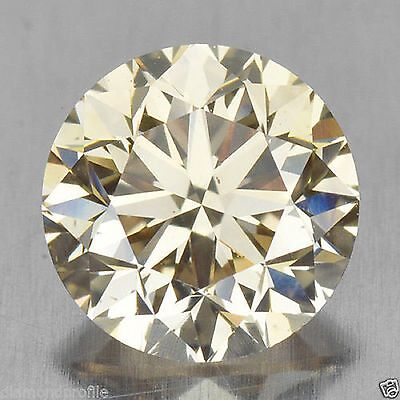 0.50 Cts Natural Champagne Diamond half carat LOOSE DIAMONDS- SI1- investment