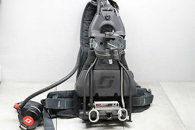 Scott Safety Air-Pak 5.5 Harness SCBA X3 CBRN Breathing Apparatus Pack 5500 PSI