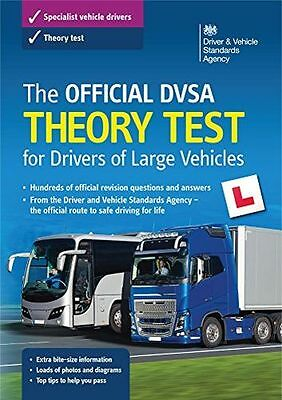The official DVSA theory test for large goods vehicles (Paperback) 0115535055