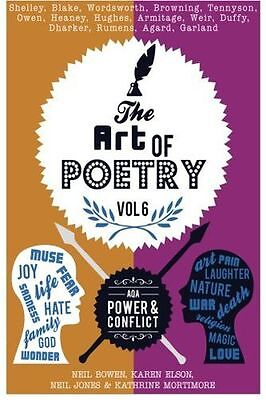 The Art of Poetry [vol.6]: AQA Power & Conflict: Volume 6 (PB) 0995467129