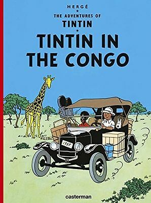 **NEW** - Tintin in the Congo (Adventures of Tin Tin) (Hardcover) - 2203096500