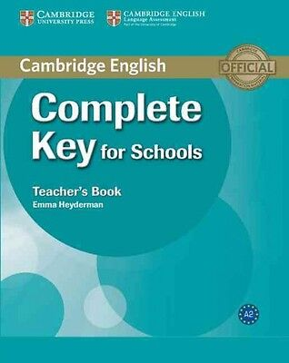 Complete Key for Schools Teacher's Book, Heyderman, Emma