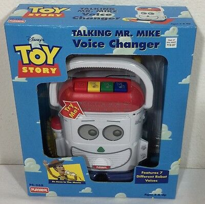 NEW Vintage Disney Toy Story Talking Mr. Mike Voice Changer 1996 SEALED Rare