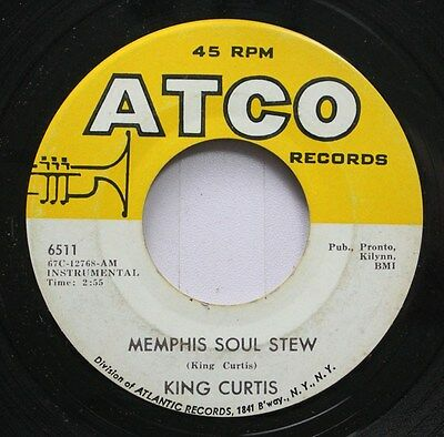 Hear! Funk 45 King Curtis - Memphis Soul Stew / Blue Nocturne On Atco