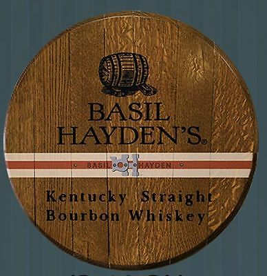Basil Hayden's Kentucky Straight Bourbon Whiskey Licensed Authentic Barrel Head