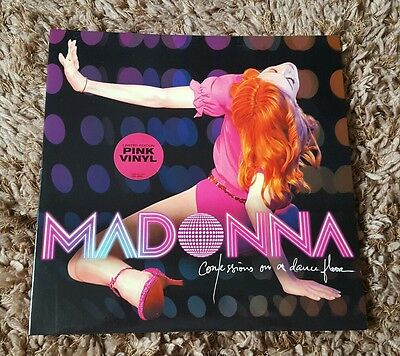 Madonna Confessions On A Dance Floor Limited Edition Double Lp Pink Vinyl