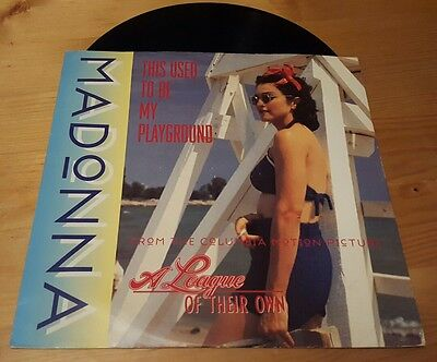 "Madonna - This used to be my playground 12"" vinyl single 1992"