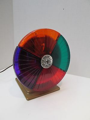 Vintage Motorized Color Wheel for Christmas Tree- Very Good Working Condition