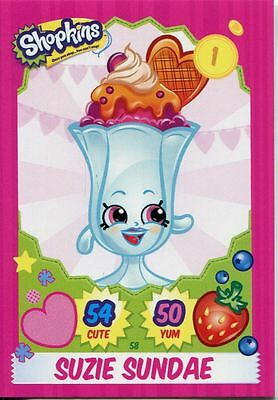 Topps Shopkins Series 1-4 Trading Cards Base Card #45 Bubbles